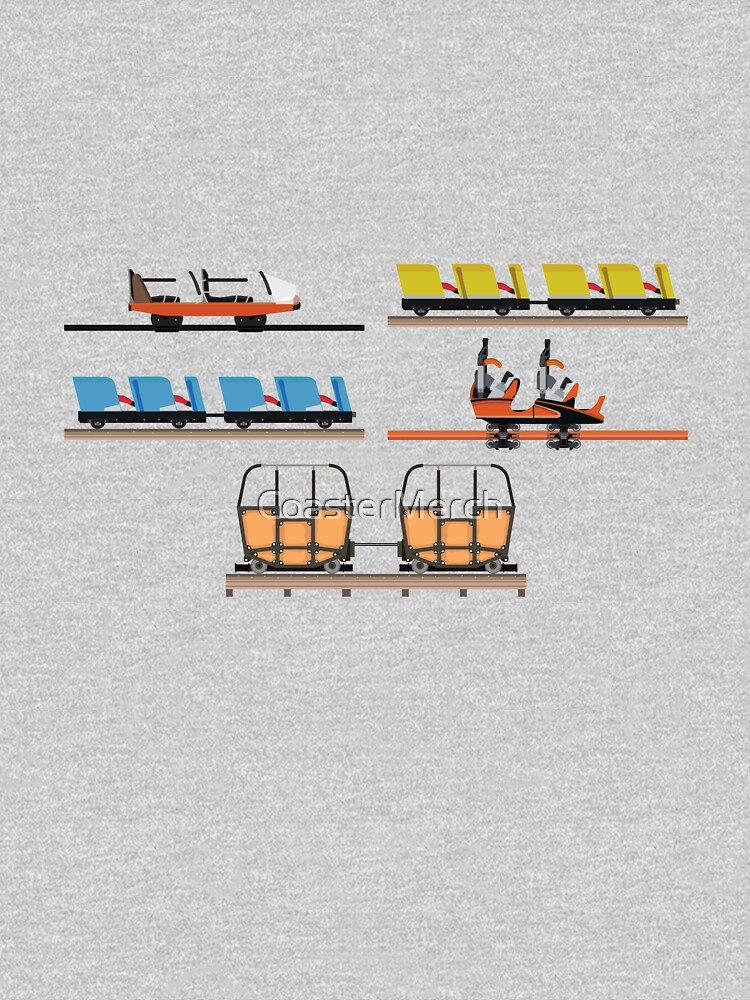 Indiana Beach Coaster Cars Design by CoasterMerch