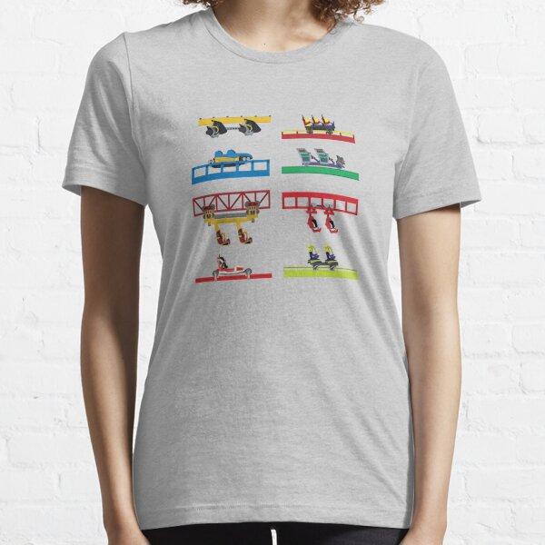 Six Flags Discovery Kingdom Coaster Cars Essential T-Shirt