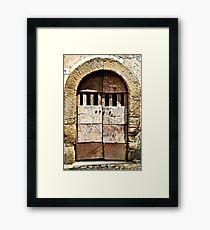 One-Calcata, Italy Framed Print