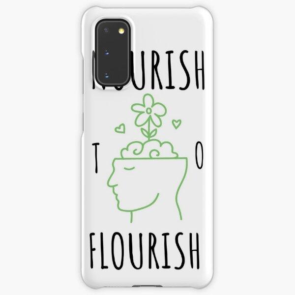 Nourish to Flourish (Black/Green) Samsung Galaxy Snap Case
