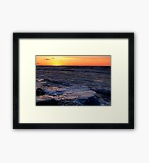 layer Framed Print