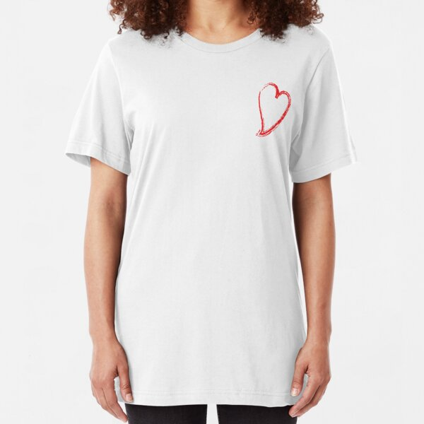 Heart Slim Fit T-Shirt