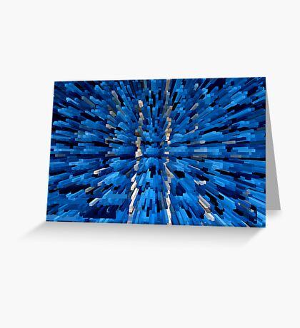 Blue View 2 Greeting Card