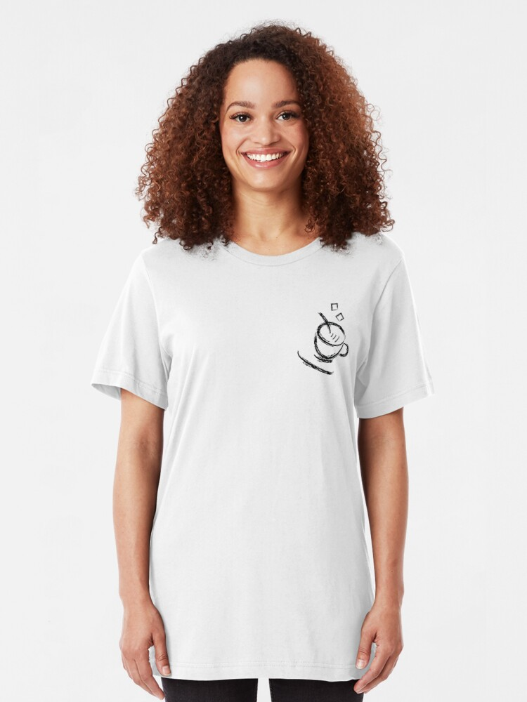 Alternate view of Sugar Lumps Slim Fit T-Shirt