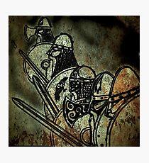 Shield wall Photographic Print