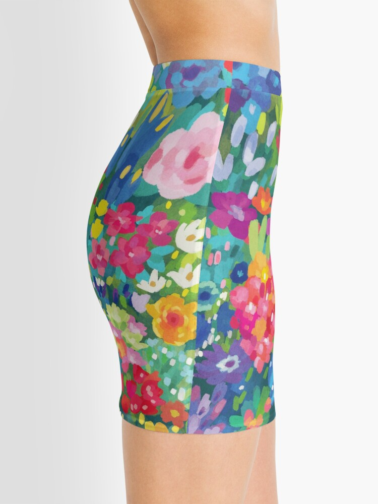 Alternate view of Florals...for Spring Mini Skirt