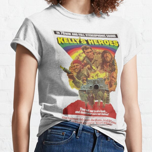 Kelly's Heroes directed by Brian G. Hutton, 1970 Classic T-Shirt