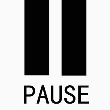 Pause Tshirt by EllaMcGregor