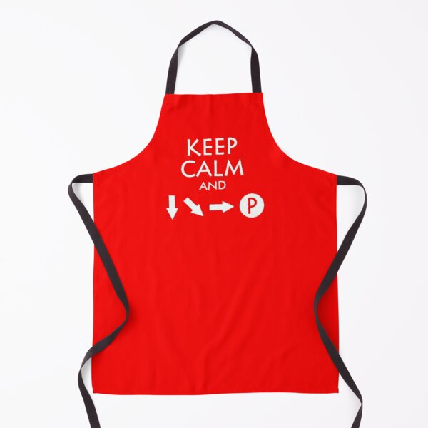 Keep Calm and Fireball Apron