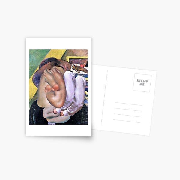 Francis Bacon. Postcard