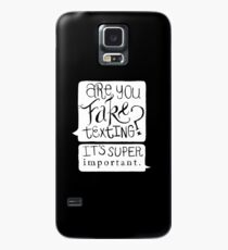 Are You Fake Texting? Case/Skin for Samsung Galaxy