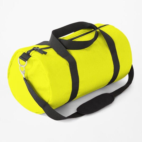 Neon fluorescent Yellow   Yellow neon Yellow/Fluro Yellow Duffle Bag