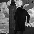 Churchill & Big Ben by JMChown