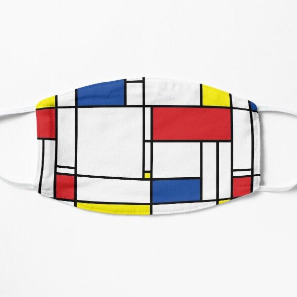 Mondrian Minimalist De Stijl Modern Art © fatfatin Mask