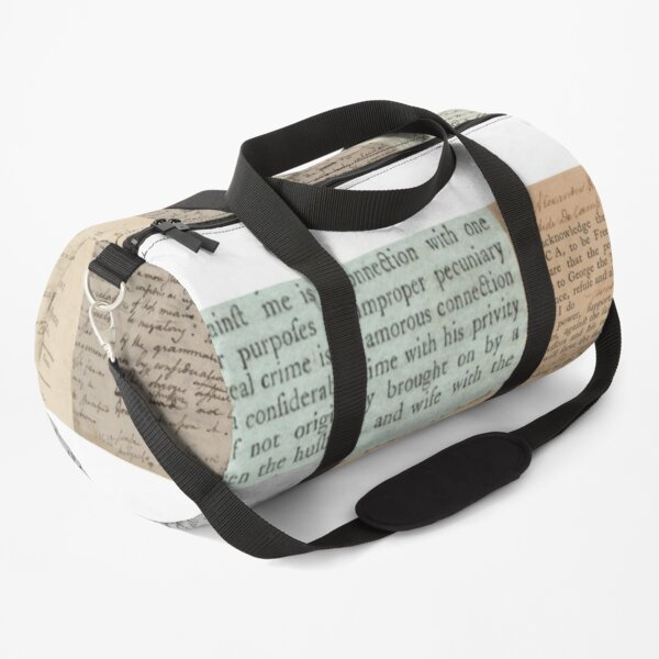 Alexander Hamilton Papers Collection Duffle Bag