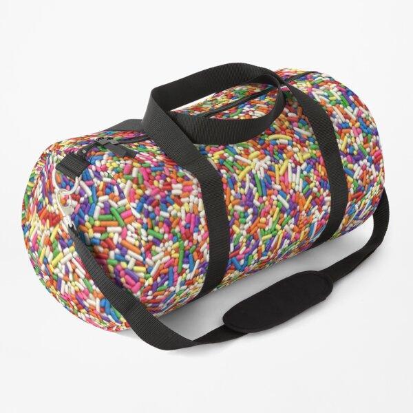 Rainbow Sprinkles Duffle Bag