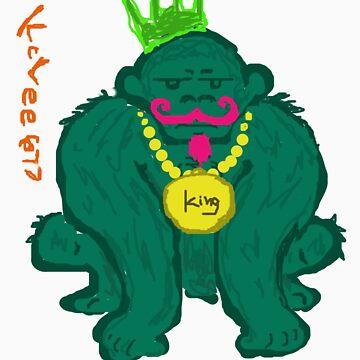 King Monkey  by KcLee677