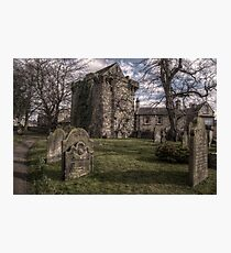 Corbridge Vicar's Pele Photographic Print