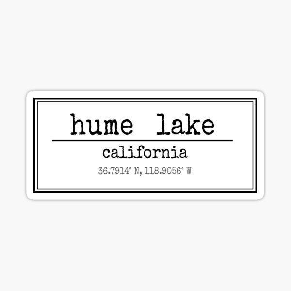 Hume Lake Sticker