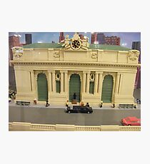 Lego Grand Central Terminal, Grand Central Station, New York City Photographic Print