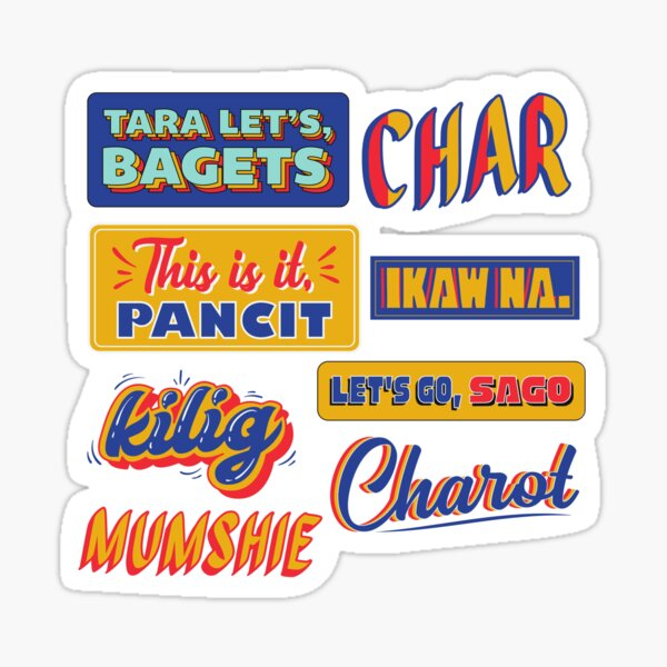 Funny Tagalog Words Sticker Packs Sticker