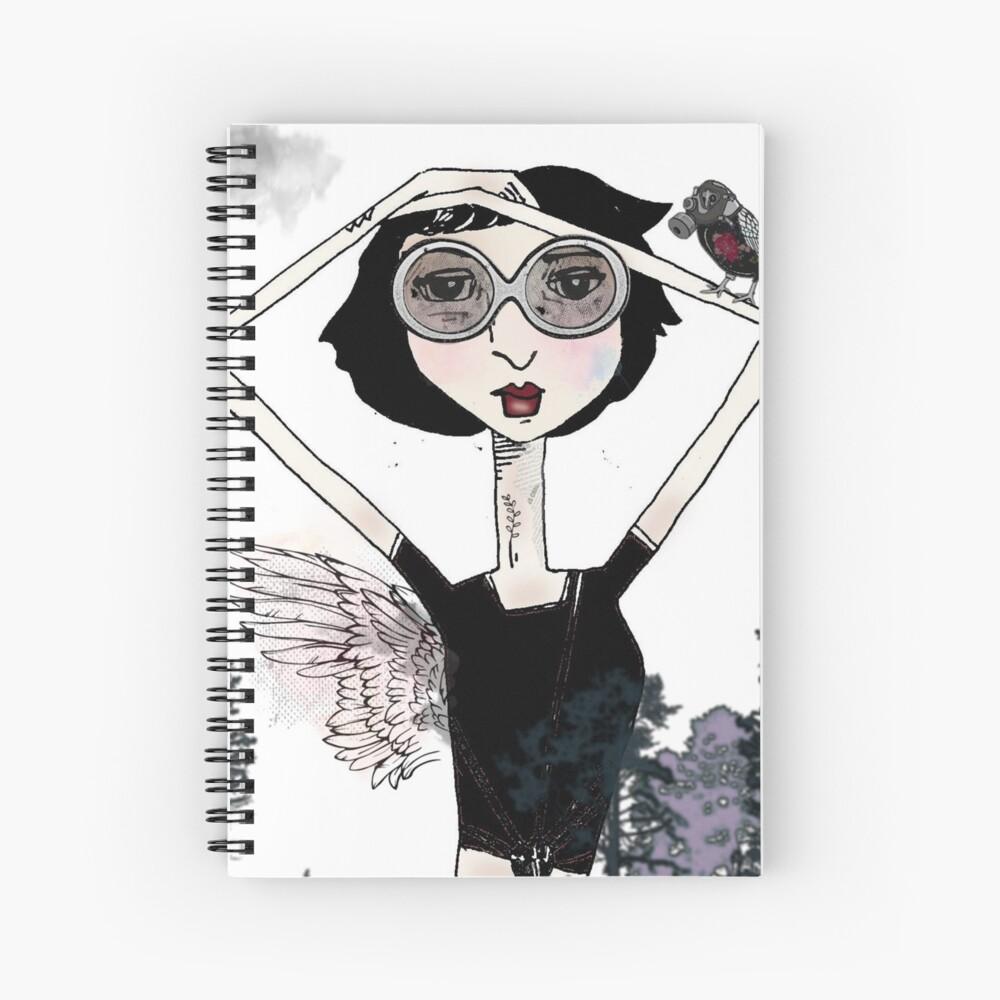 Todo Gris es Primavera Spiral Notebook