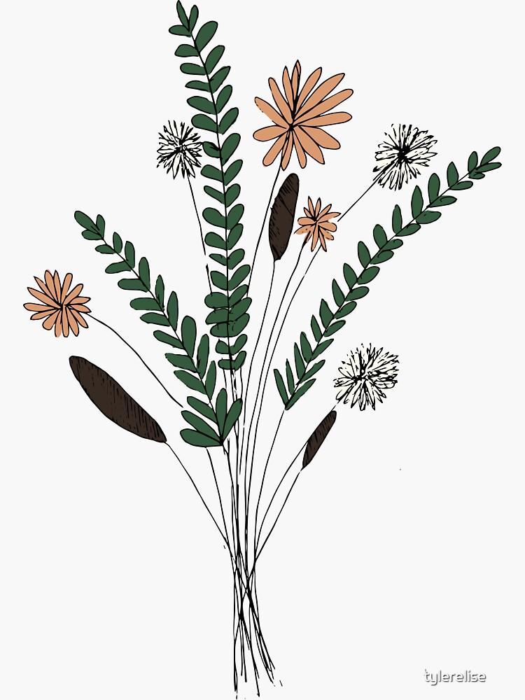 Flower Illustration by tylerelise
