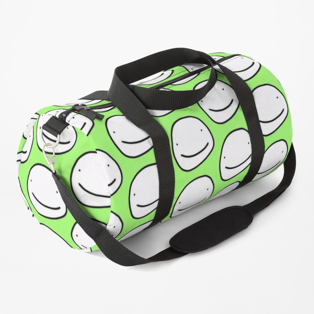 Green Dream face Duffle Bag