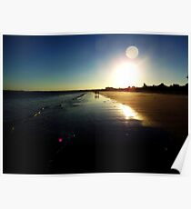 Callala Beach Sunset 2 Poster