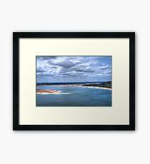 Lake Travis HDR Framed Print