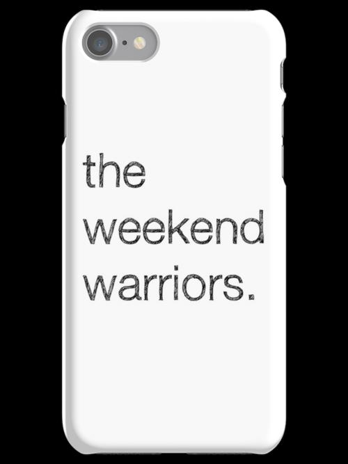 """MALDÉR """"Weekend Warriors"""" iPhone/iPod Case by MALDÉR London"""