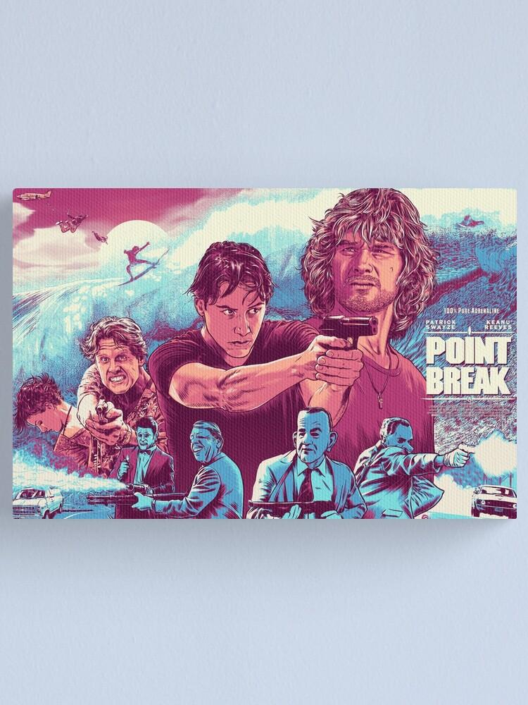 Alternate view of POINT BREAK Canvas Print