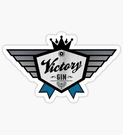 Victory Gin - Nineteen Eighty-Four George Orwell Sticker