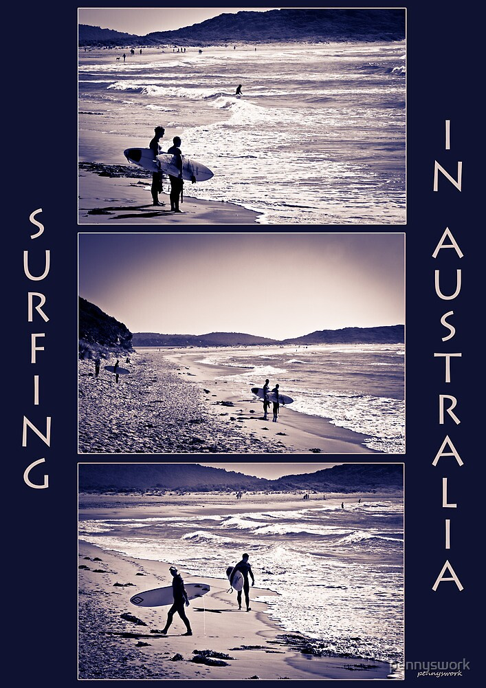 Surfing Collage by pennyswork