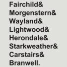 Shadowhunter Names by bethscherm