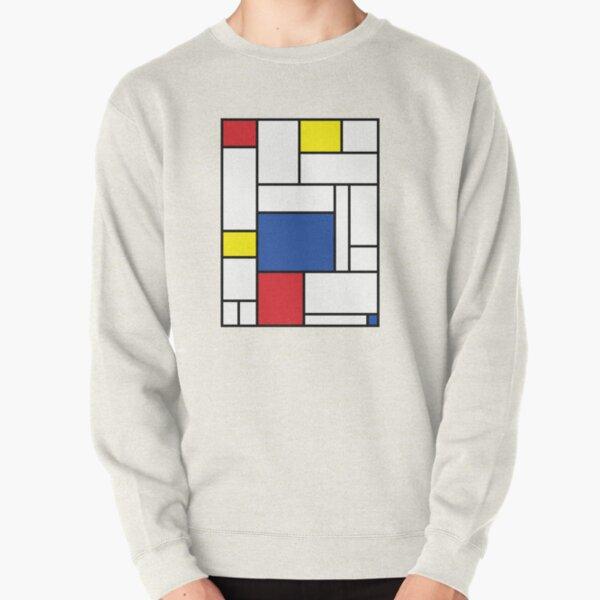 Mondrian Minimalist De Stijl Modern Art II © fatfatin Pullover Sweatshirt