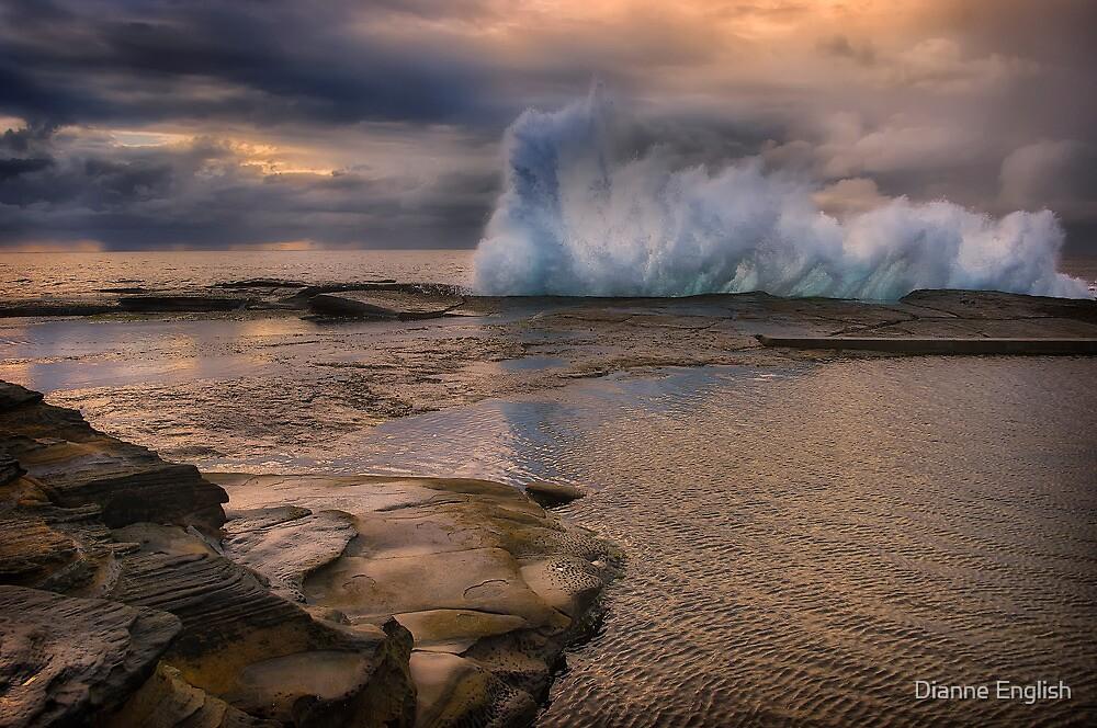 Ocean Drama by Dianne English