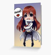 Anime Chibi 3 Greeting Card