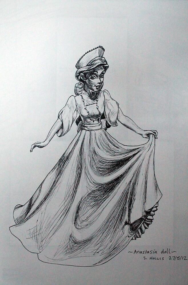 Anastasia Doll by Sylvia  Hollis