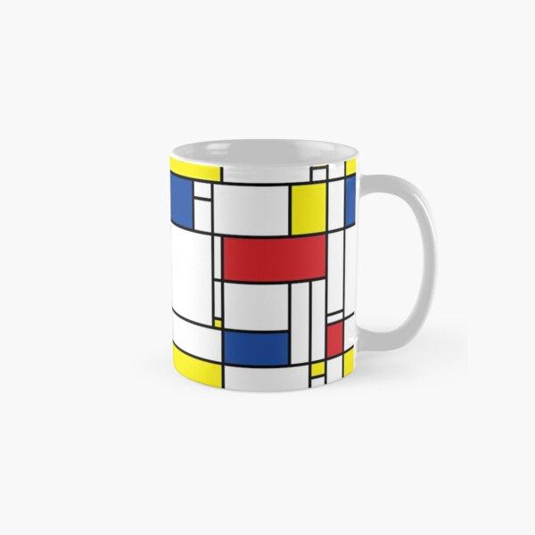Mondrian Minimalist De Stijl Modern Art I.I © fatfatin Classic Mug