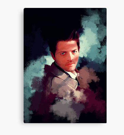 Castiel ~ Portrait Canvas Print