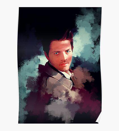Castiel ~ Portrait Poster