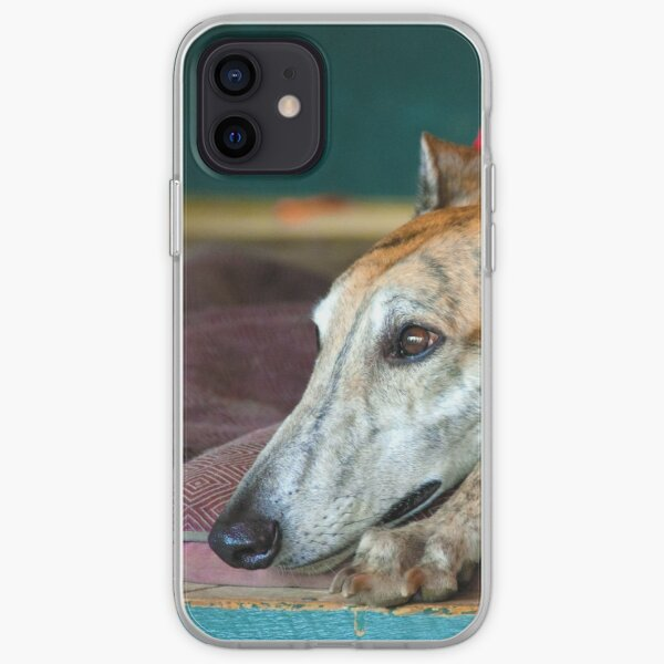 Greyhound Dreams iPhone Soft Case