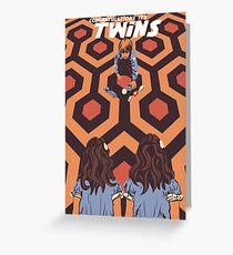 Congratulations It's Twins The Shining Horror Birthday Greetings Card Greeting Card