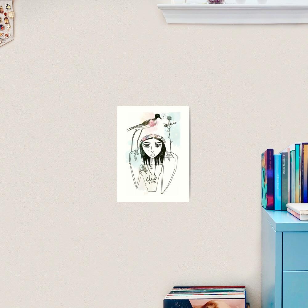 Club Quiet Art Print