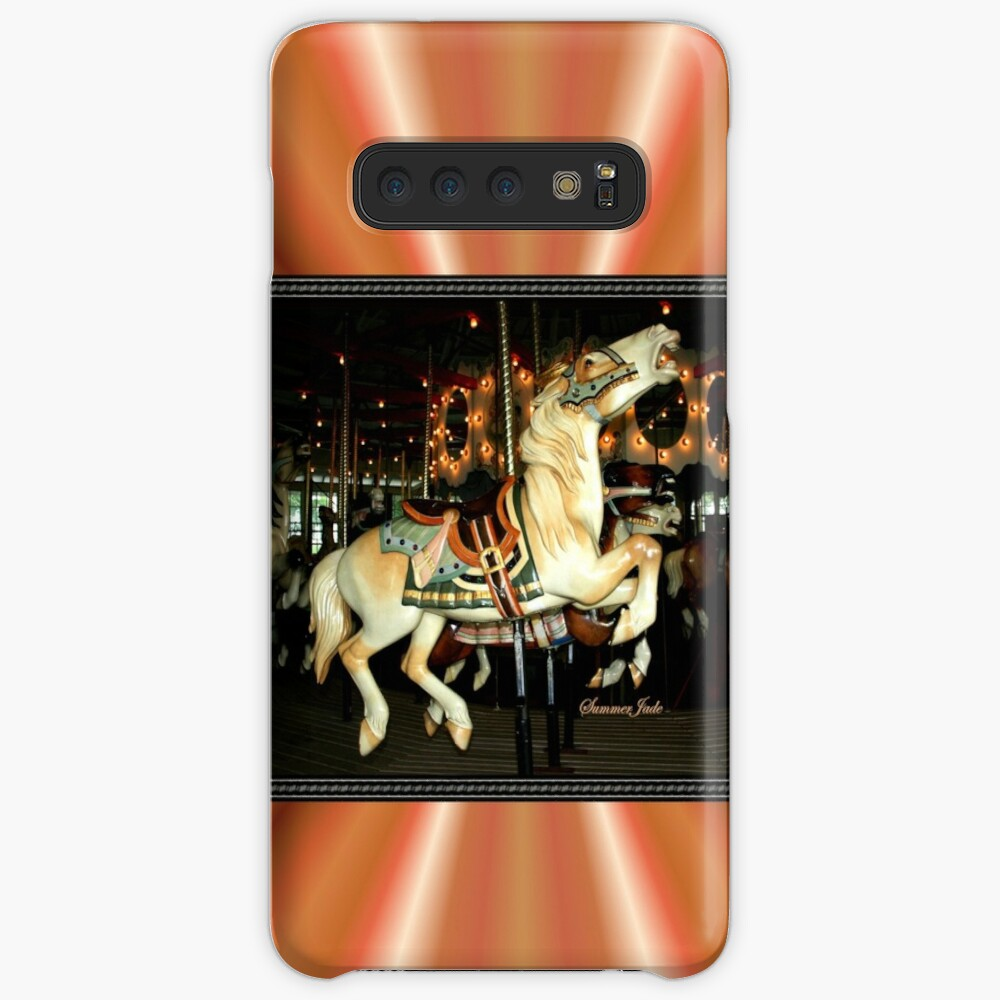 Beautiful Horse on the Carousel Case & Skin for Samsung Galaxy