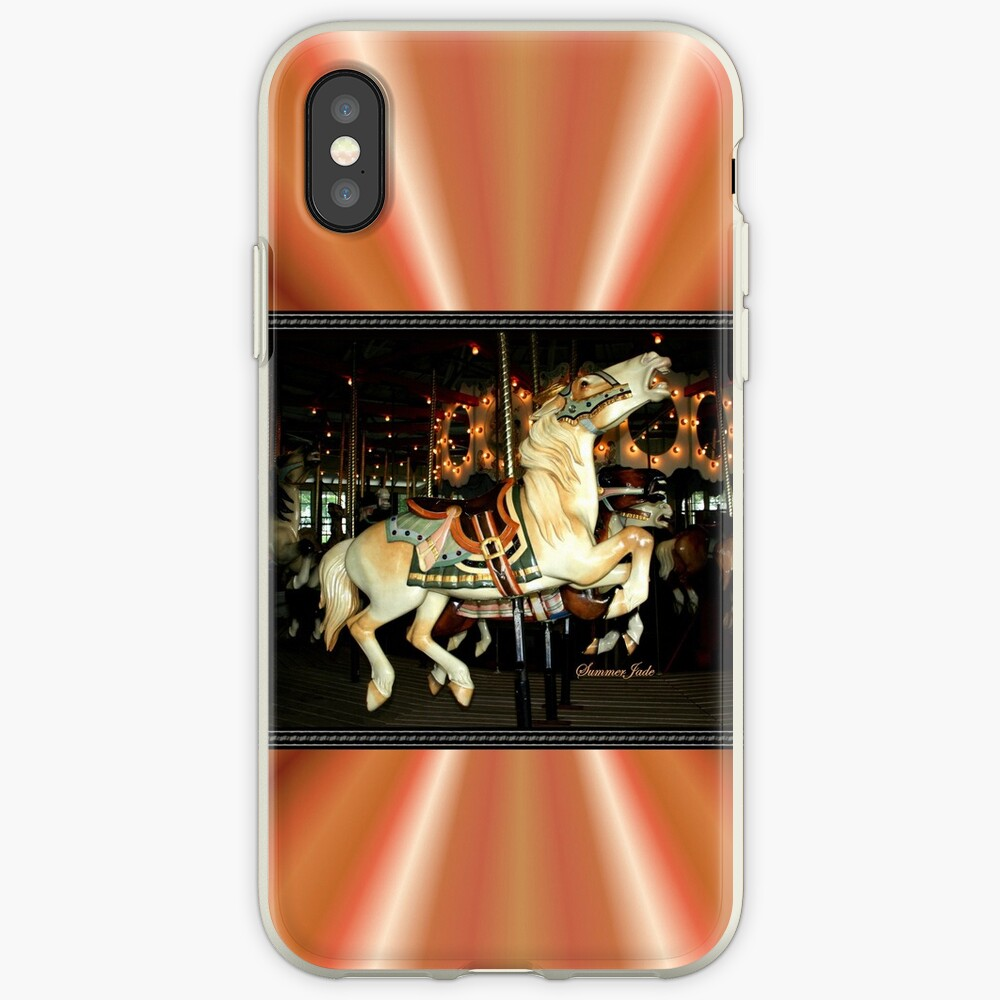 Beautiful Horse on the Carousel iPhone Case & Cover