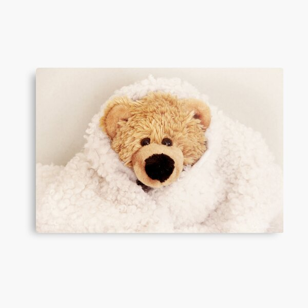 Teddy want to be a lamb Metal Print