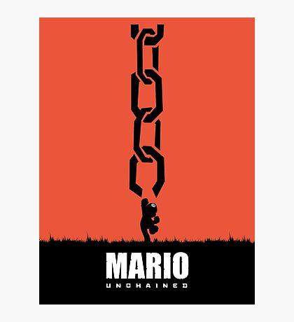 Mario Unchained Photographic Print