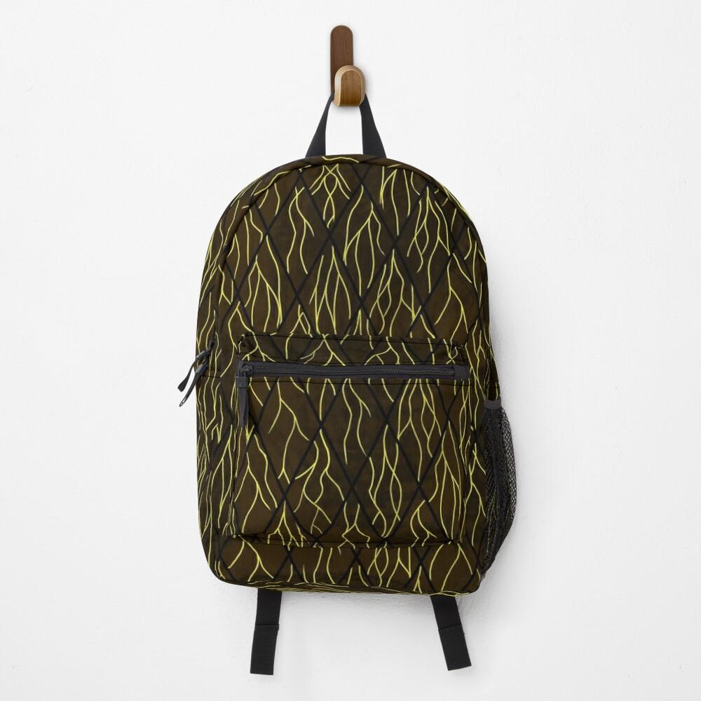 Earthen Scales, Golden Streams Backpack